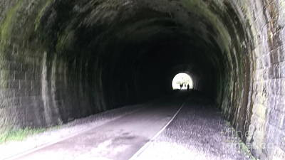Photograph - A Monsal Tunnel by Tracey Williams