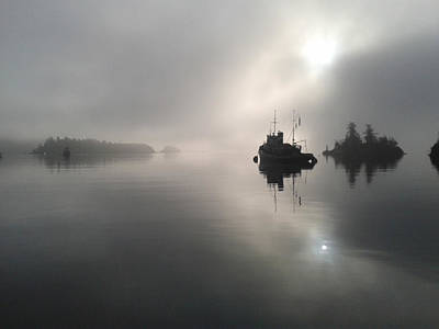Photograph - A Moody Morning by Mark Alan Perry