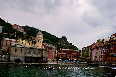 Photograph - A Morning In Italy by April Bielefeldt