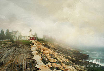 A Morning In Maine 2 Print by Darren Fisher