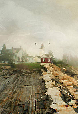A Morning In Maine Art Print by Darren Fisher
