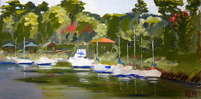 A Morning In May Art Print by Karen Macek