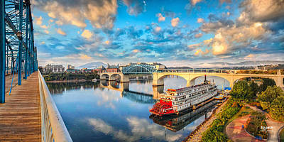 Chattanooga Tennessee Photograph - A Morning View by Steven Llorca