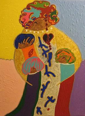 A Mother's Love Art Print by Clarissa Burton