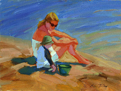 Painting - A Mother's Love by Diane McClary