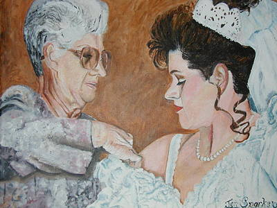 Painting - A Mothers Love by Jen Sparks
