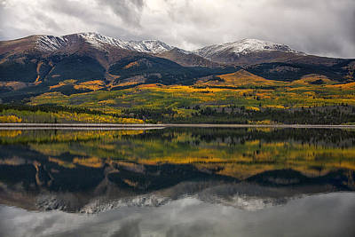 Nature Ers Photograph - A Mt. Elbert Fall by Morris  McClung