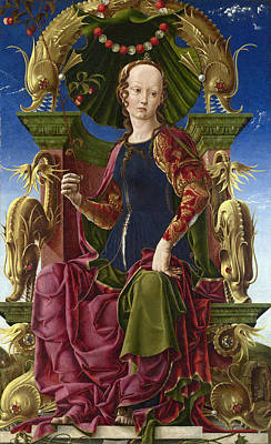 A Muse. Calliope Art Print