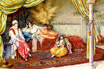 Bedspreads Digital Art - A Musical Interlude by F A Ferraresi