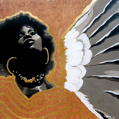 Painting - A Natural Angel by Jerome White
