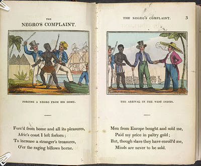 A Negro Being Abducted Art Print by British Library