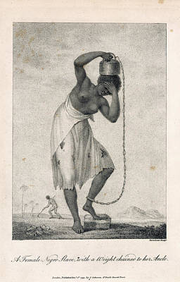 A Negro Slave Art Print by British Library