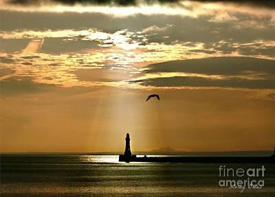 Photograph - Roker Pier Sunderland by Morag Bates