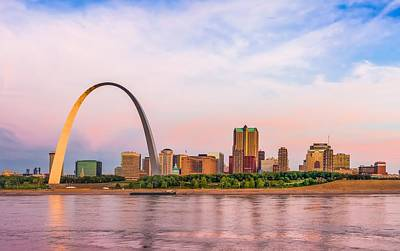 Photograph - A New Day For St Louis by Semmick Photo