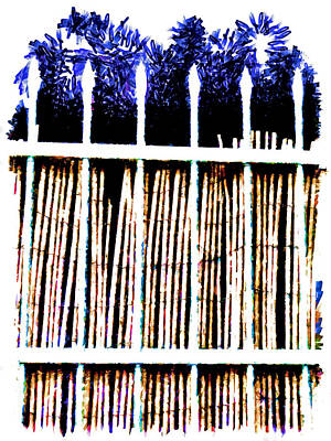 Bamboo Fence Digital Art - A New Day Will Dawn For Those Who Stand Long by Steve Taylor