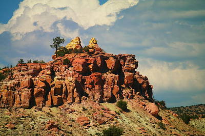 A New Mexico View Art Print by Jeff Swan