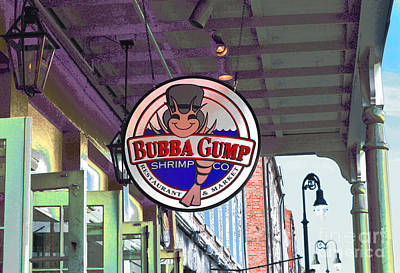 Local Food Digital Art - A New Orleans Favorite by Alys Caviness-Gober