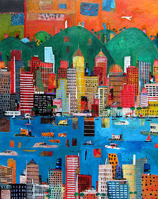 Hong Kong Painting - A Nice Day by Francesco Lietti