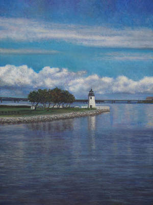 Painting - A Nice Day In Newport Ri by David P Zippi