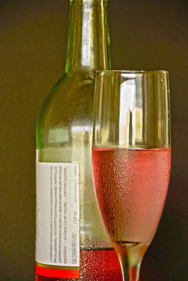 Photograph - A Nice Glass Of Wine by Charles Beeler