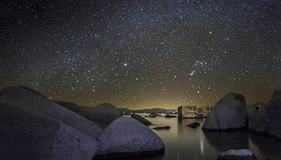 Beach Lake Tahoe Photograph - A Night At Speedboat by Jeremy Jensen