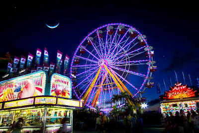 Photograph - A Night At The Fair by Mark Andrew Thomas