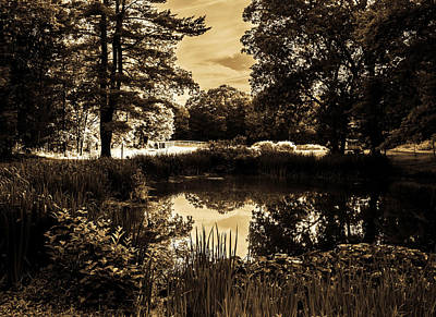 Poconos Photograph - A Night At The Farm by James Chesnick