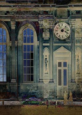 Petrol Green Digital Art - A Night At The Palace by Sarah Vernon