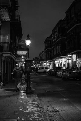 Photograph - A Night In The French Quarter by Nathan Hillis