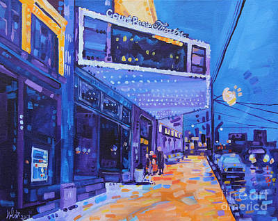 Painting - A Night Out by Michael Ciccotello