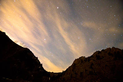 James Insogna Photograph - A Night Up The Canyon by James BO  Insogna