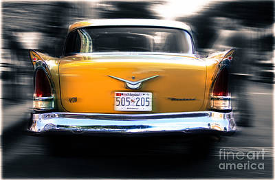 A Packard Of Wings Art Print by Steven Digman