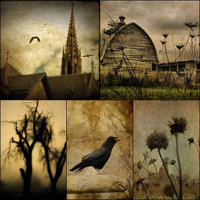 Barn Digital Art - A Page  by Gothicrow Images