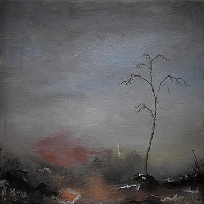 Painting - A Painting A Day 13 by Gray  Artus