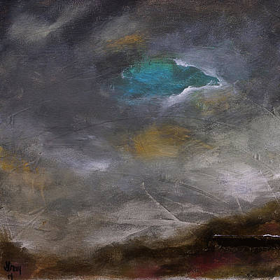 Painting - A Painting A Day #2 by Gray  Artus