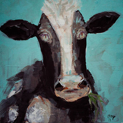 Painting - A Painting A Day #5 Farm Animal Painting by Gray  Artus