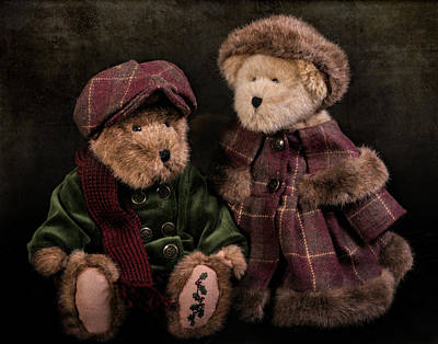Photograph - A Pair Of Bears by David and Carol Kelly
