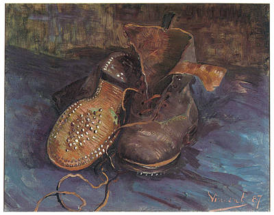 A Pair Of Boots Art Print by Vincent Van Gogh