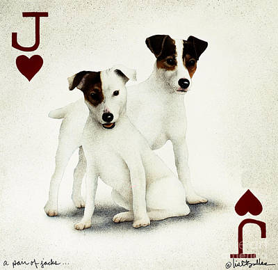 A Pair Of Jacks... Art Print