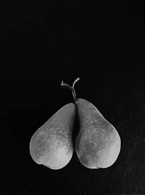 Photograph - A Pair Of Pears  by David Pantuso