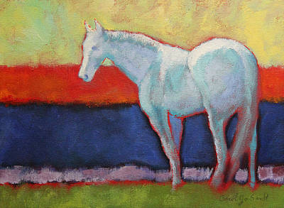 Painting - A Pale Horse by Carol Jo Smidt