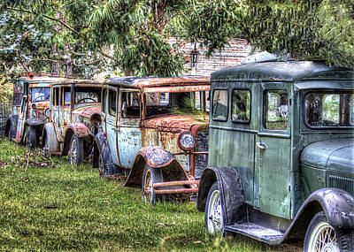 A Parade From The Past Art Print by Danny Pickens