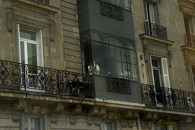 Photograph - A Paris Window by Maria  Disley