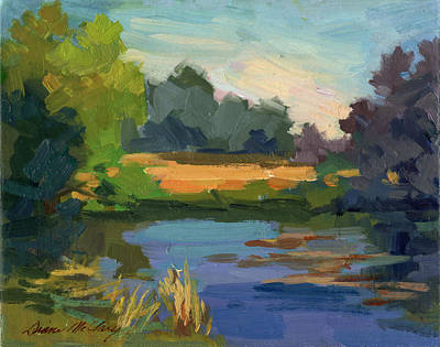 Painting - A Patch Of Sun by Diane McClary