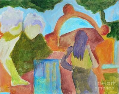 A Path To Discover- Caprian Beauty Series 1 Art Print by Elizabeth Fontaine-Barr
