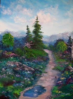 A Path Unknown Art Print