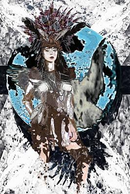 Digital Art - A Pathfinders Calling by Asegia