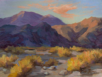 Painting - A Peaceful Afternoon In La Quinta Cove by Diane McClary