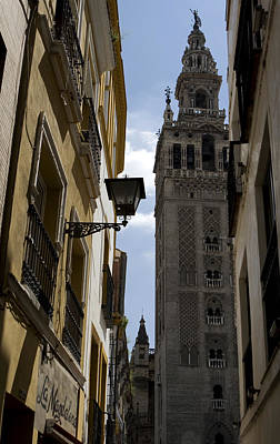 Photograph - A Peak At La Giralda by Lorraine Devon Wilke