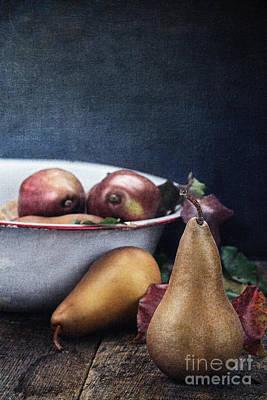 A Pear Sill Life Art Print by Stephanie Frey